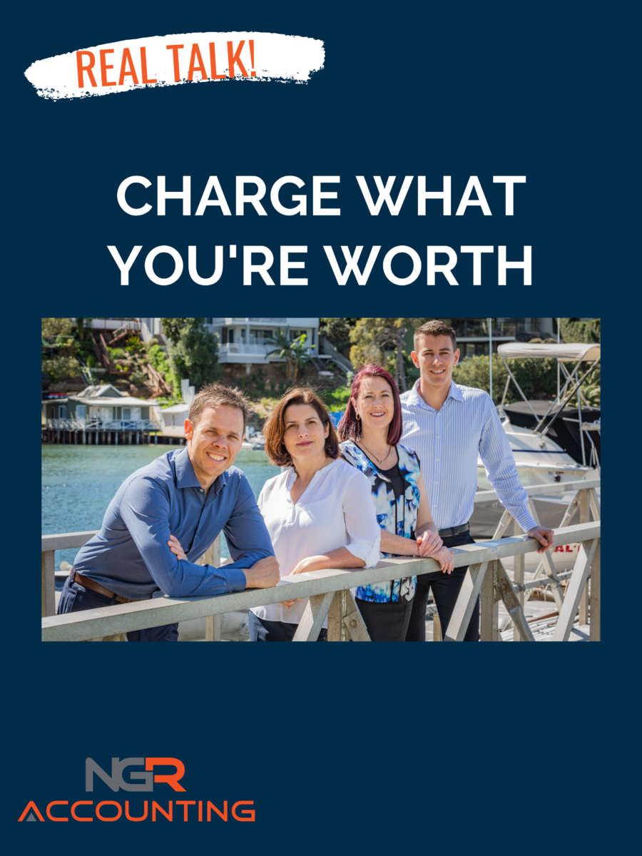 charge what your worth