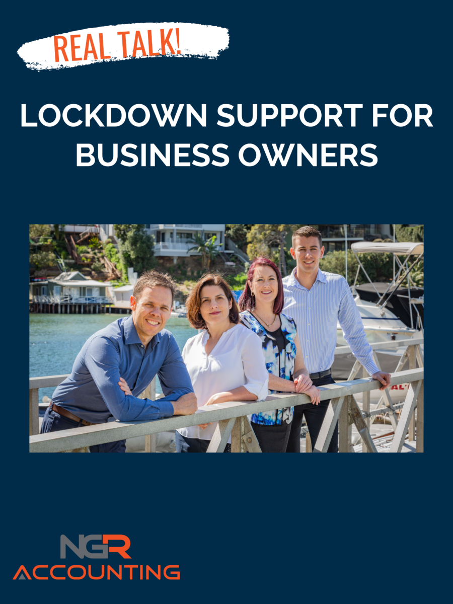Lockdown support for business owners